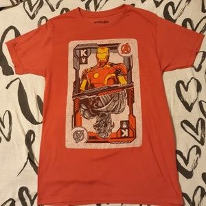 Marvel Avengers Iron man Ultron Tee Shirt Sz Small